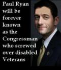 Paul Ryan Screwed Over Disabled Veterans