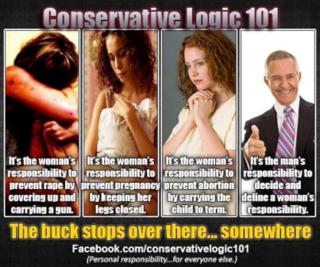 Women pregnancy rape responsibility
