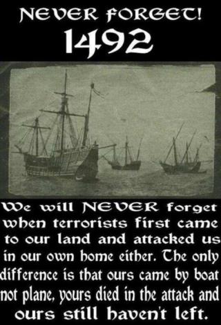 1492 Terrorist Invasion