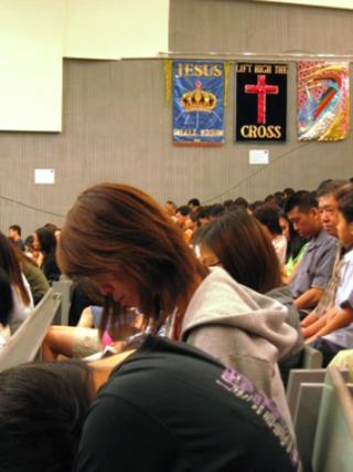 Christian Right Praying