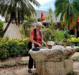 Communion in the garden